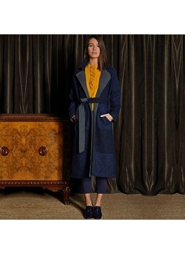 Vekem-Limited Edition Palto Lacivert